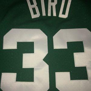 154d19e0369 Mitchell & Ness Shirts - 🆕Mitchell&Ness Larry Bird Celtics Swingman ...